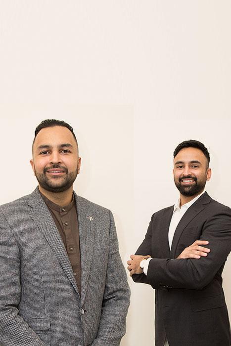 Niraj and Nish Thaker